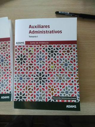 Temario Auxiliar Administrativo Junta de Andalucia
