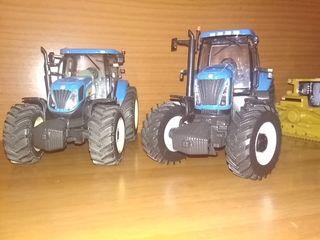 tractores new holland maqueta escala