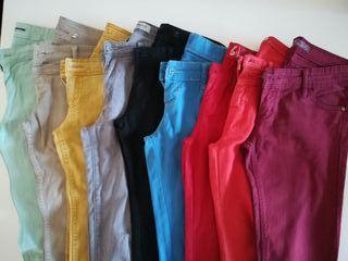 pantalones colores t. 38