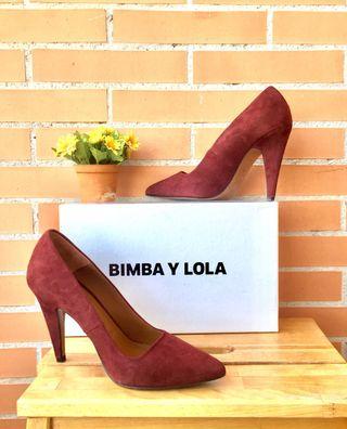 Zapatos tacón Bimba y Lola