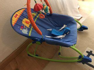 Silla mecedora bebe. MARCA Fisher price