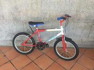 bicicleta de niños 16 pulgadas