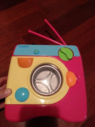 Lavadora de juguete. No necesita pilas