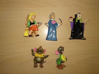 Figuras Disney comics Spain PVC años 80 cenicienta