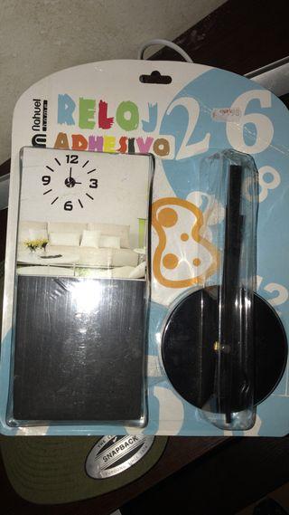 Reloj adhesivo de pared