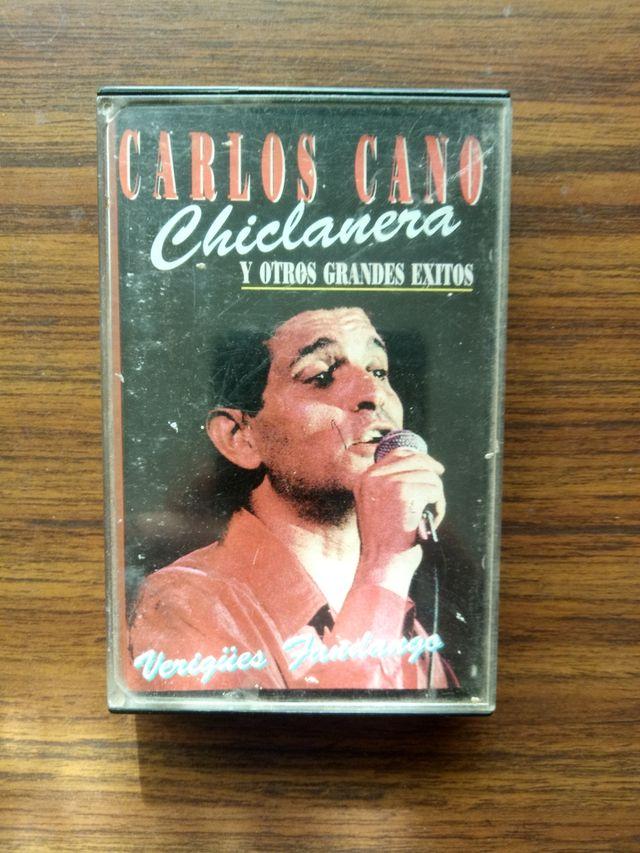 CASSETTE CARLOS CANO