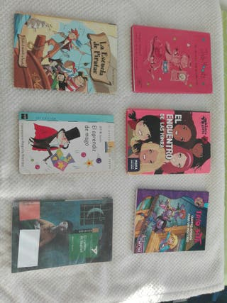 6 Libros Infantiles-Juveniles