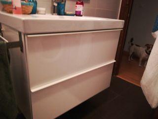 Mueble ikea lavabo de segunda mano en wallapop - Muebles lavabo ikea ...