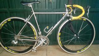 bici clasica carretera merlin titanio talla s