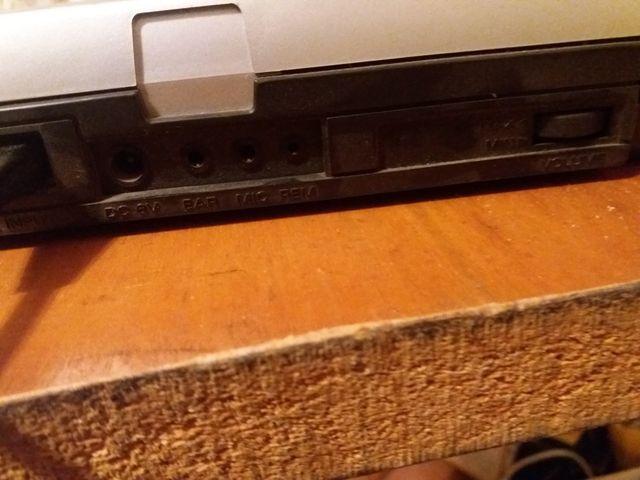radio antiguo casset