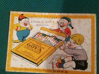 Publicidad pasteles goya años 50