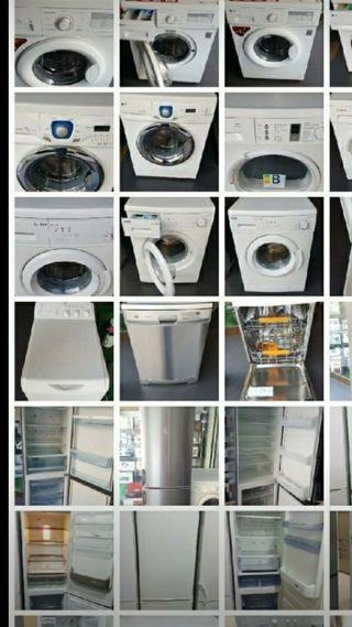 lavadoras neveras lavavajillas secadoras desde 80€