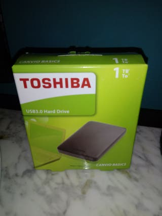 disco duro 1TB Toshiba.negociable