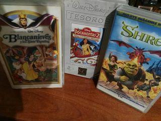 Colección de películas infantiles de Walt Disney.