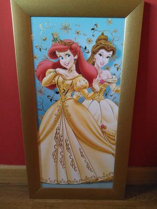 cuadro princesas Disney