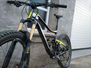 bicicleta btt, enduro