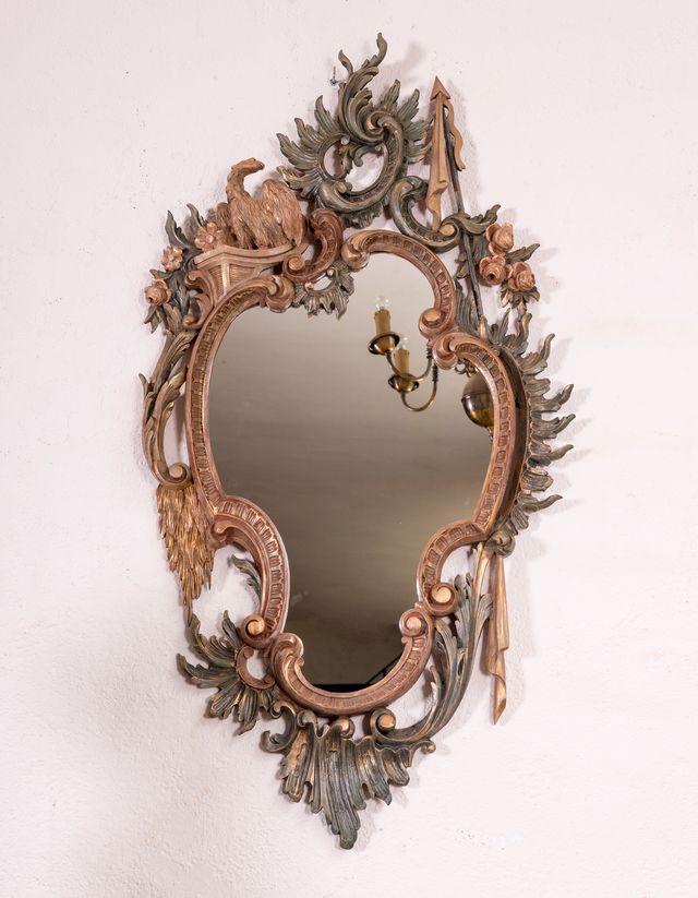 Espejo Antiguo Restaurado Cloe