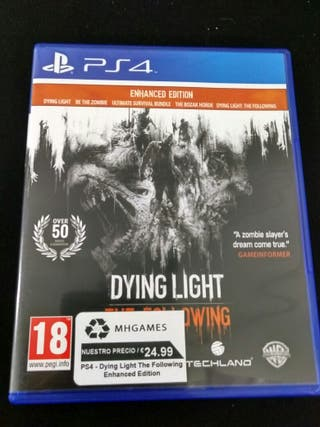 PS4 - Dying Light The Following Enhanced Edition