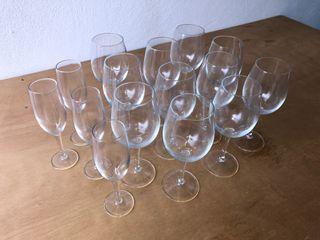 Copas de vino y de champagne