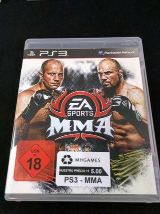 PS3 - MMA