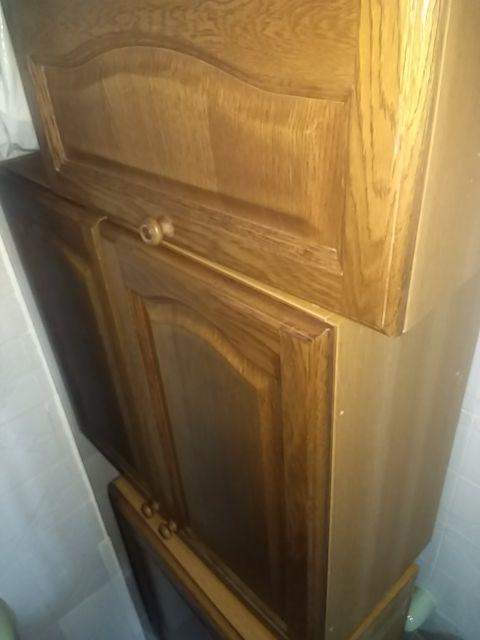 Muebles de cocina de madera, varios precios de segunda mano por 1 ...