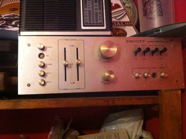 Amplificador de audio Scott A416