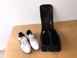 Zapatos de Golf ADIDAS talla 45 y bolsa zapatos