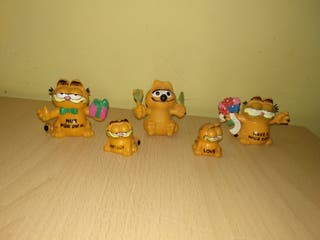 Figuras Gato garfield PVC bully comic