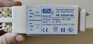 TRANSFORMADOR BOMBILLAS HALOGENAS 50W