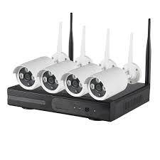 kit de camaras de vigilancia wifi sin cables
