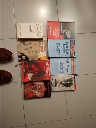 Libros novelas populares