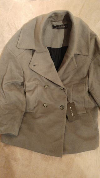 Abrigo Zara chaqueta