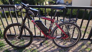 Bicicleta montaña Eléctrica con kit 500w 36v 17,5A