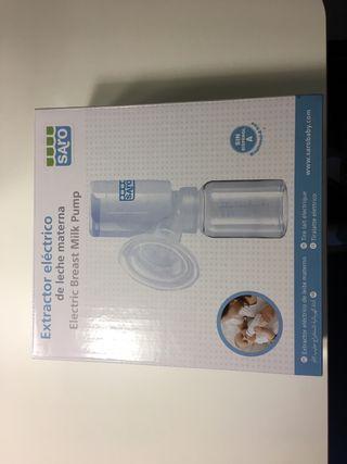 Extractor eléctrico leche materna marca Saro