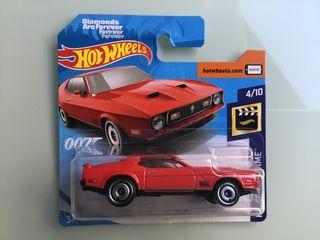 Hot wheels 007 Mustang Mach 1 '71