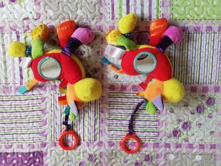 muñeco texturas, colores, para colgar