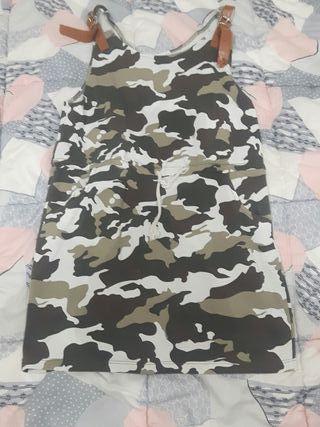 Vestido Militar Niña