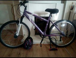 Bike and Padlock