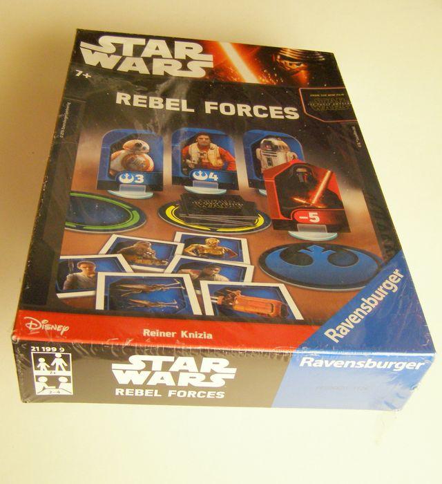 Juego De Mesa Star Wars Rebel Forces Ravensburger De Segunda Mano