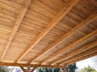Porche de madera 6x4