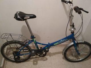 "Bicicleta plegable 20"""
