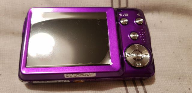 A Purple Polaroid Camera