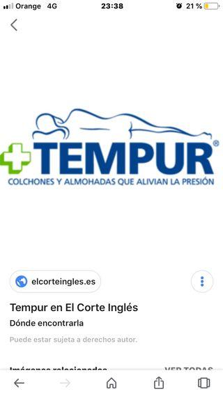 Colchon Tempur 135 De Segunda Mano Por 50 En Moron De La Frontera