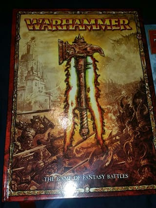Warhammer:The game of fantasy battles & The Empire