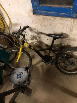 Bicicleta para niñ@ de mtb, con cambio trasero