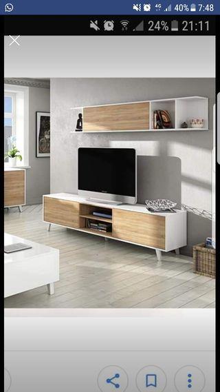 mueble salon y aparador como nuevo