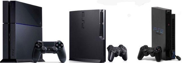 PS2 + PS3 + PS4