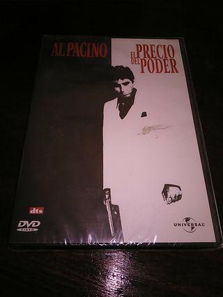 DVD EL PRECIO DEL PODER precintado/nuevo