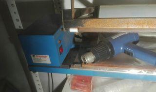 Retractiladora manual con pistola de calor Garfer