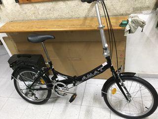 "Bici Amat Nautic plegable rueda 20"" NUEVA"